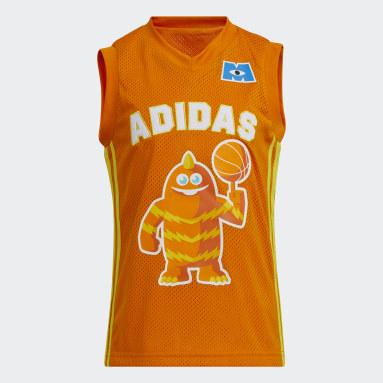 Kinder Basketball Little Kids George Sanderson Trikot Orange