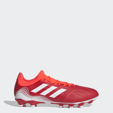 Fußball Copa Sense.3 MG Fußballschuh Rot