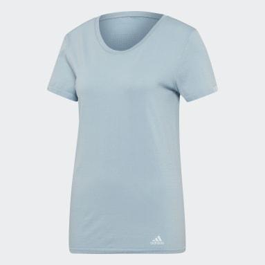 Camiseta 25/7 Azul Mujer Running