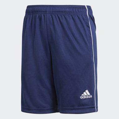 Pantalón corto entrenamiento Core 18 Azul Niño Gimnasio Y Entrenamiento