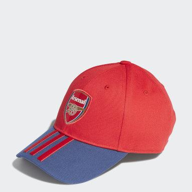 Cappellino Baseball Arsenal FC Rosso Calcio