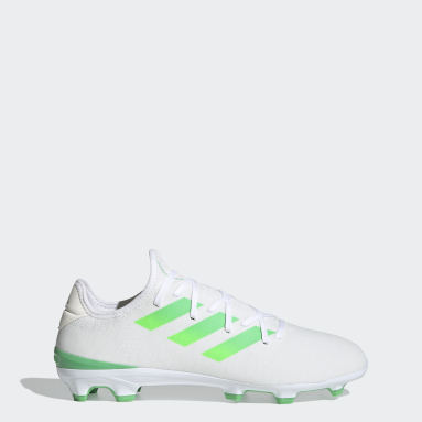 Soccer White Gamemode Knit Firm-Ground Cleats