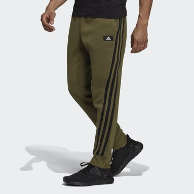 Pantaloni adidas Sportswear Future Icons Winterized Verde Uomo Sportswear