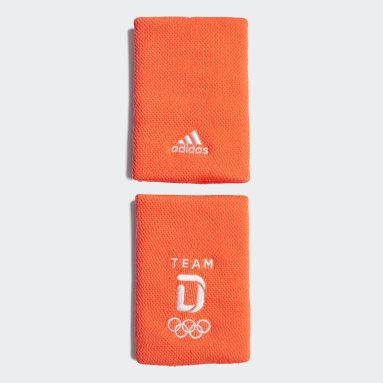 Fitness & Training Team Deutschland Schweißband Rot