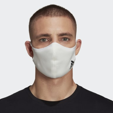 Face Cover Badge of Sport - Non per uso medico Bianco Sportswear