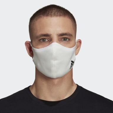 Sportswear wit Mondkapje Badge of Sport - niet voor medisch gebruik