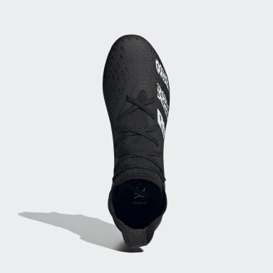 Bota de fútbol Predator Freak.3 césped natural húmedo Negro Fútbol