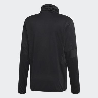 Heren Fitness En Training Zwart Tiro 19 Warm Sweatshirt