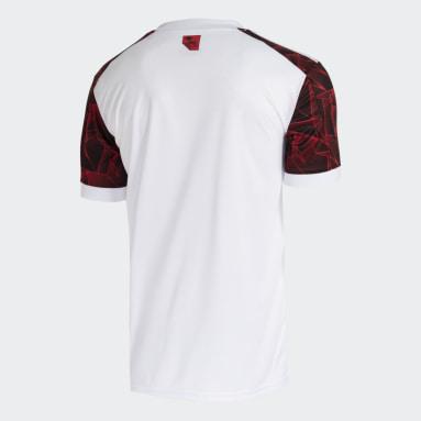 Camisa 2 CR Flamengo 21/22 Branco Homem Futebol