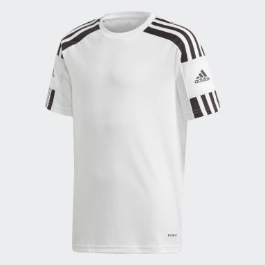 Jongens Voetbal Wit Squadra 21 Voetbalshirt