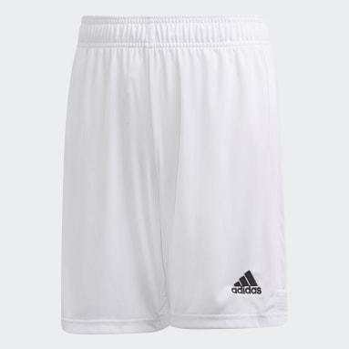 Youth Soccer White Tastigo 19 Shorts