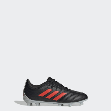 Kids Football Black Copa 19.3 Firm Ground Boots