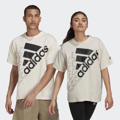Sportswear Wit Essentials Logo T-shirt (Uniseks)