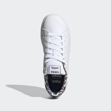 Zapatillas Pokémon Advantage (UNISEX) Blanco Niño Diseño Deportivo