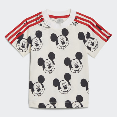 Conjunto de Verano Disney Mickey Mouse Blanco Niño Training