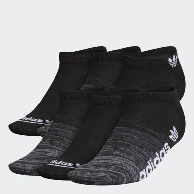 Women's Originals Black Superlite Gradient No-Show Socks 6 Pairs