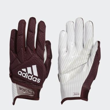 Football Burgundy Freak 5.0 Gloves