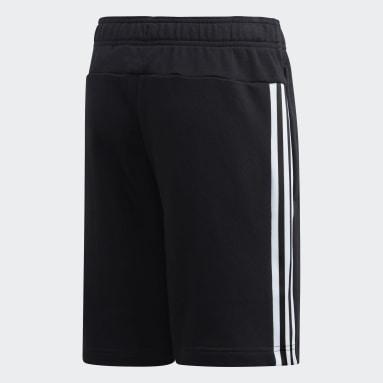 Short Noir Garçons Sportswear