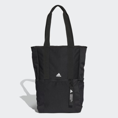 Lifestyle Black Classic Backpack Tote Bag