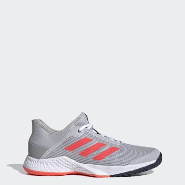Men Tennis Grey Adizero Club Shoes