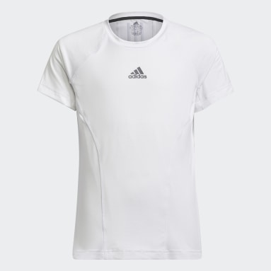 Camiseta XFG AEROREADY Breathable Slim Training Blanco Niña Gimnasio Y Entrenamiento