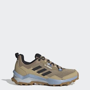 Women's TERREX Beige Terrex AX4 Primegreen Hiking Shoes