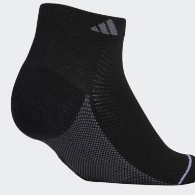 Women's Training Black Superlite Stripe Low-Cut Socks 3 Pairs