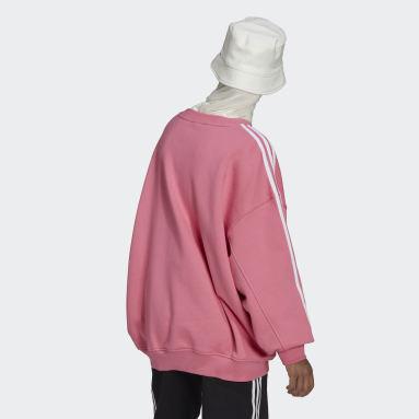 Frauen Originals adicolor Classics Oversized Sweatshirt Rosa