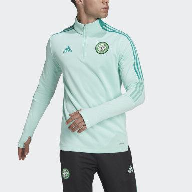 Maglia Tiro Warm Celtic FC Turchese Uomo Calcio