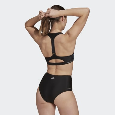 Top da nuoto Stronger For It Women In Power Nero Donna Nuoto