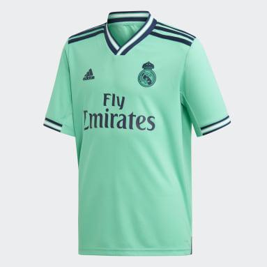 Divisa Youth Third Real Madrid Verde Bambini Calcio