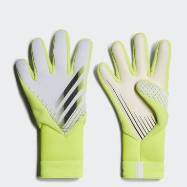 желтый Вратарские перчатки X Pro