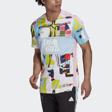 Maillot adidas Love Unites Tiro Rose Football