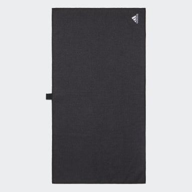 Grande serviette noir Hommes Golf