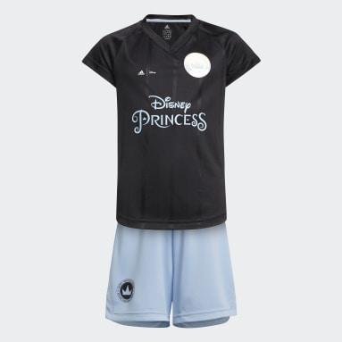 черный Комплект: футболка и шорты Disney Princesses