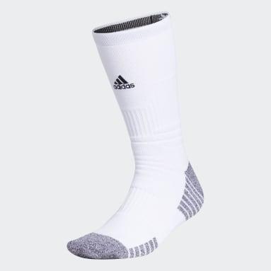 Training White 5-Star Cushioned Crew Socks