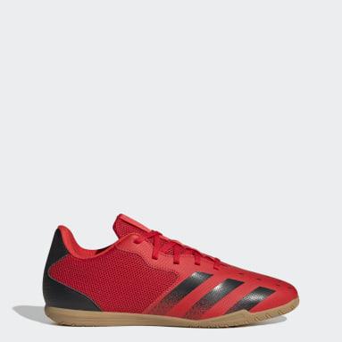 красный Футбольные бутсы (футзалки) Predator Freak.4 Sala