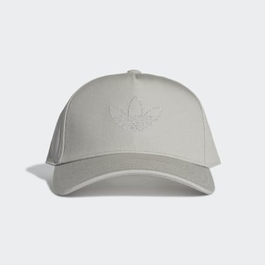 Originals Grey Trefoil Trucker Cap