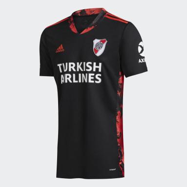Camiseta de Arquero River Plate 20/21 Negro Niño Fútbol