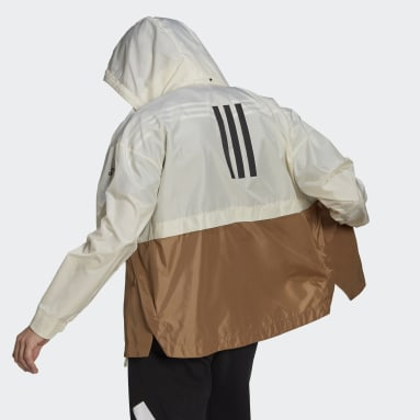 Men City Outdoor White Traveer WIND.RDY Jacket