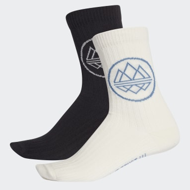 Erkek Originals Siyah Trefoil Spezial Çorap - 2 çift