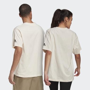 T-shirt Essentials Logo (Gender neutral) Bianco Sportswear