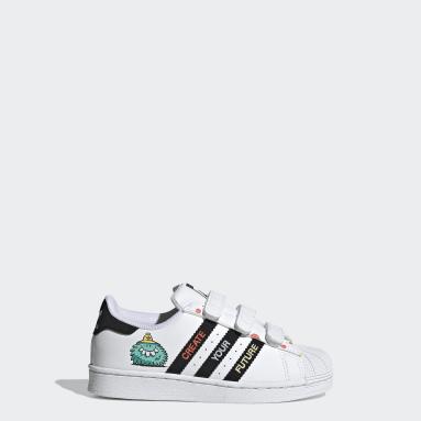 Kinder Originals adidas x Kevin Lyons Superstar Schuh Weiß