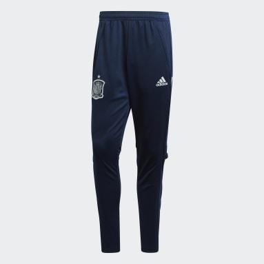 Pantalón entrenamiento España Azul Fútbol