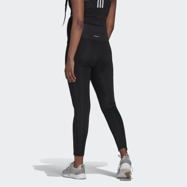 Kvinder Studio Sort Designet To Move 7/8 Sport ventetøj tights