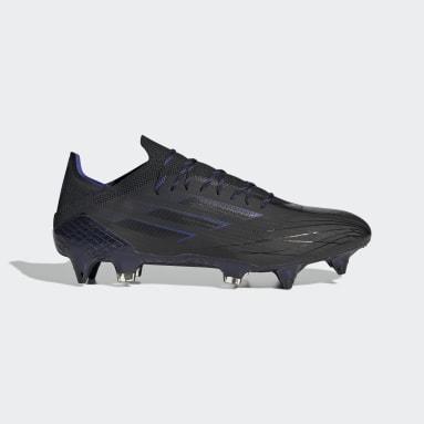 Fodbold Sort X Speedflow.1 Soft Ground støvler
