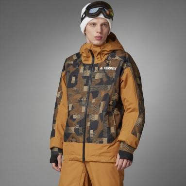 Mænd TERREX Brun Resort Two-Layer Insulated jakke