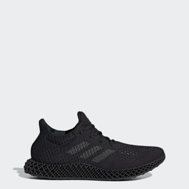Running Black adidas Futurecraft 4D Shoes