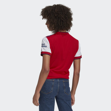 Women Football White Arsenal 21/22 Home Authentic Jersey