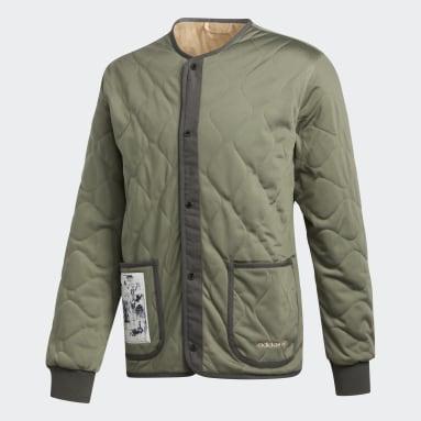 Herr Originals Grön FA Liner Jacket